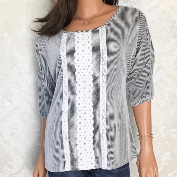 Anthropologie Tops - Anthropologie Twig & Perch Lace Pathways Top
